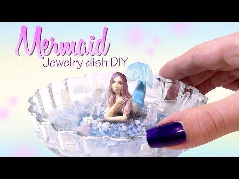 Miniature Mermaid Tutorial // DIY Jewelry Dish