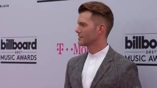 BBMAs 2017 FashionCam AJ Gibson