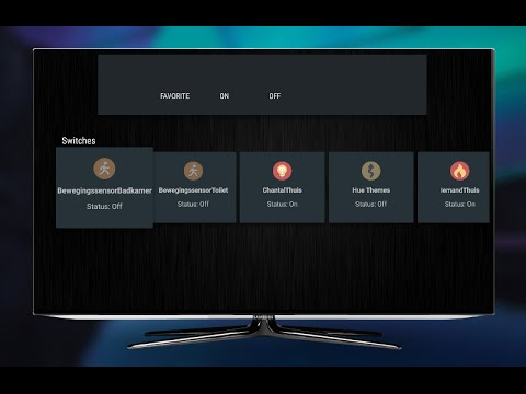 Domoticz for Android TV