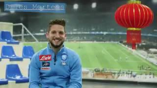 VIDEO - Napoli, Mertens ai tifosi cinesi: