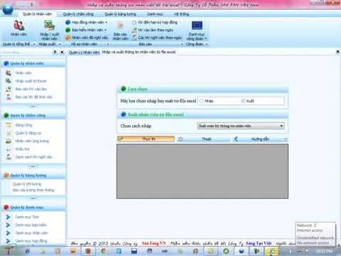 Phần mềm quản lý nhân sự bằng C#