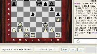 Letsplaychess.com Post Mortem #1 vs. IM theblackcrow (2216) - Morning 6th June 2009 (Chessworld.net)