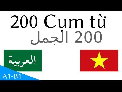 200 Cụm từ  - Tiếng Ả Rập - Tiếng Việt