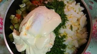 Как Быстро приготовить Салат Оливье! Как Быстро Отварить Картошку, морковь! + Кот БАРСИК Шотландский