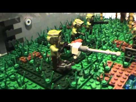 LEGO Star Wars: MOC on Kashyyyk