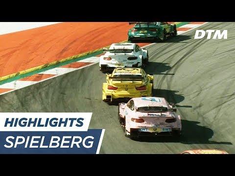 Highlights Race 1 - DTM Spielberg 2017