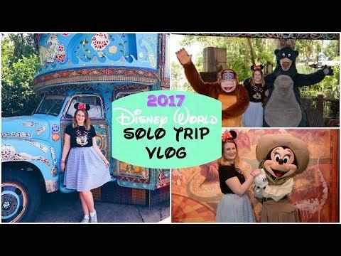 Disney World Solo Trip 2017 | Day Six, Part One - Animal Kingdom