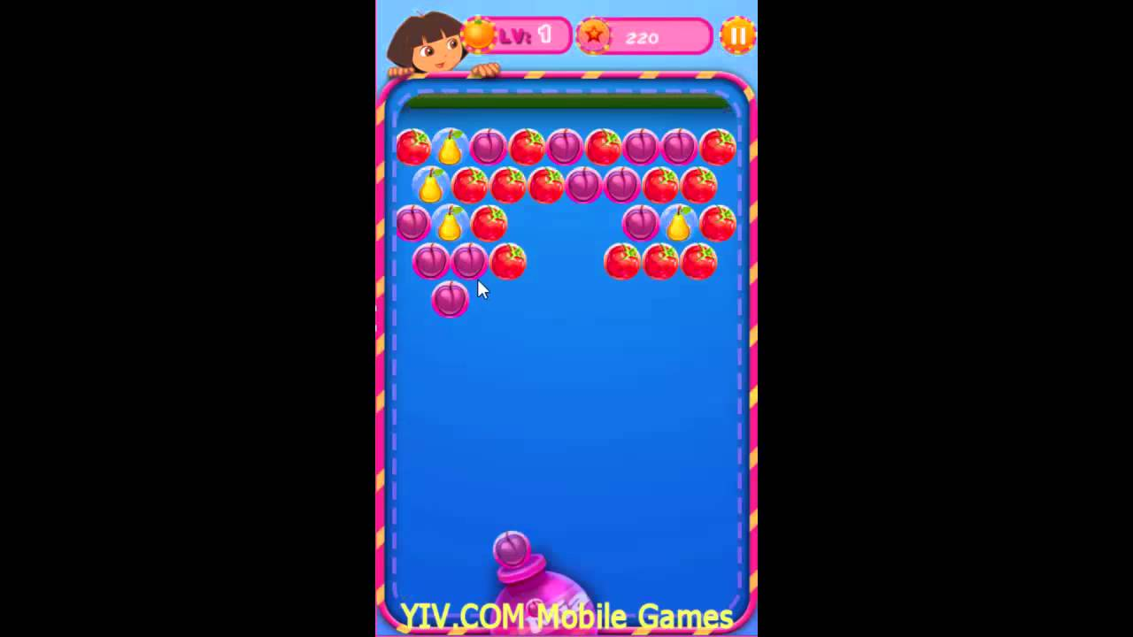 Bubble fruits game -  Dora The Explorer Game Movie Dora Fruit Bubble Baby Videos Games For Kids Part 4 Hd