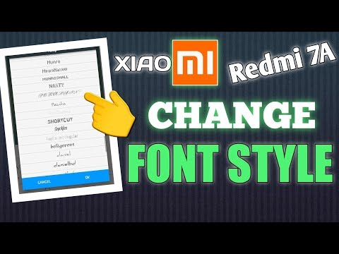 how-to-change-font-style-on-xiaomi