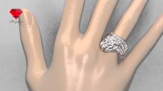 Bije.ru: Позолоченное кольцо с кристаллами Swarovski Joy (Джой)(, 2015-02-16T13:03:58.000Z)