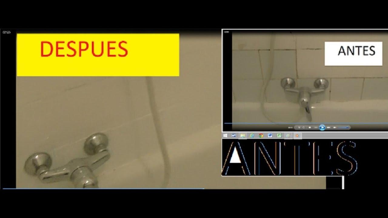 Deja tu cuarto de ba o como nuevo por poco dinero youtube - Como decorar un cuarto de bano ...