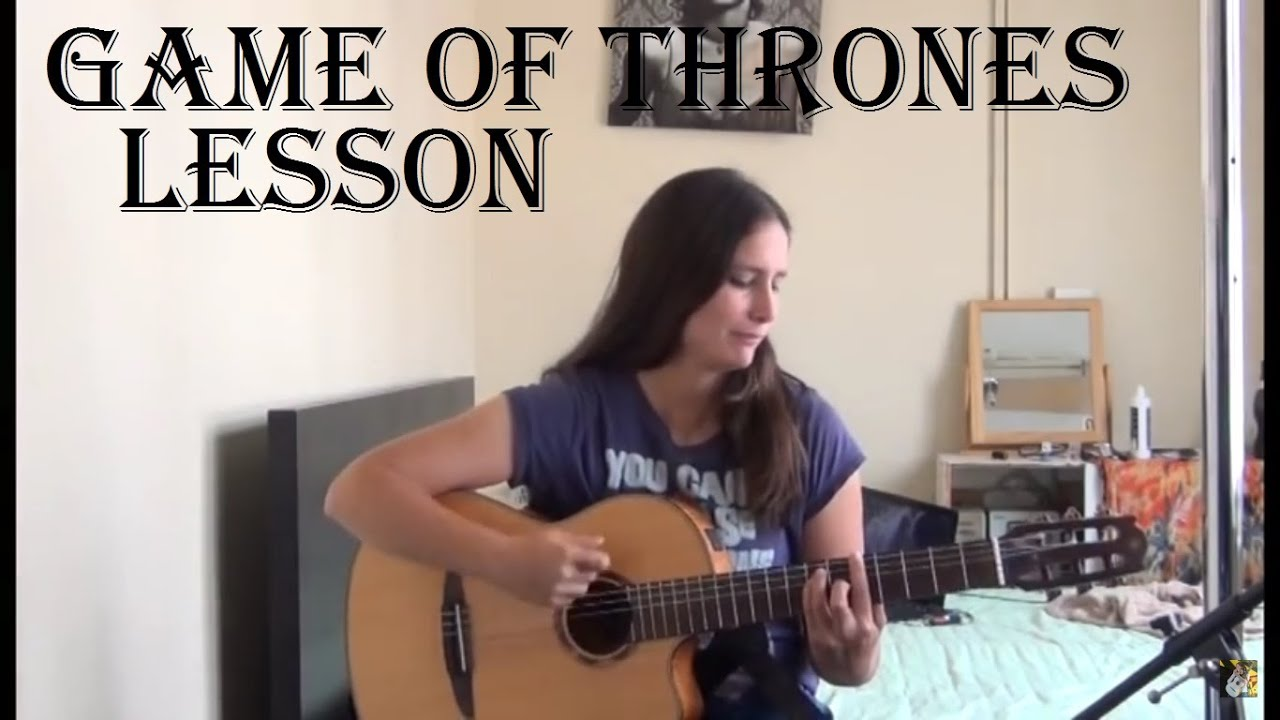 How To Play The Chords For Game Of Thrones Guitar Lesson Youtube