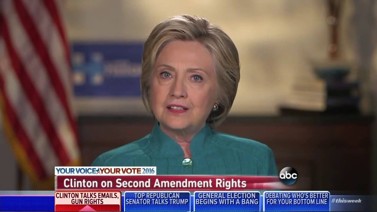 hilary clinton and her advocacy for the equal rights amendment Second amendment hillary on gun control: supreme court is wrong on second amendment depended upon to do should she achieve her goal: hillary clinton will take.