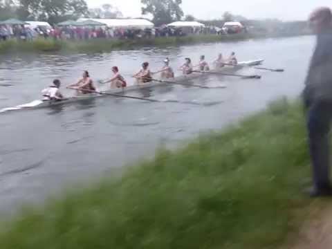 May Bumps 2015 - Saturday - Girton W1 bump Newnham W1