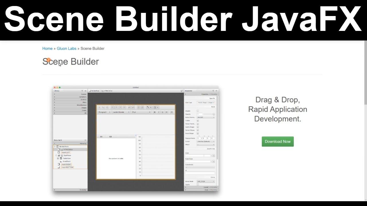 How to Install Gluon Scene Builder in Netbeans