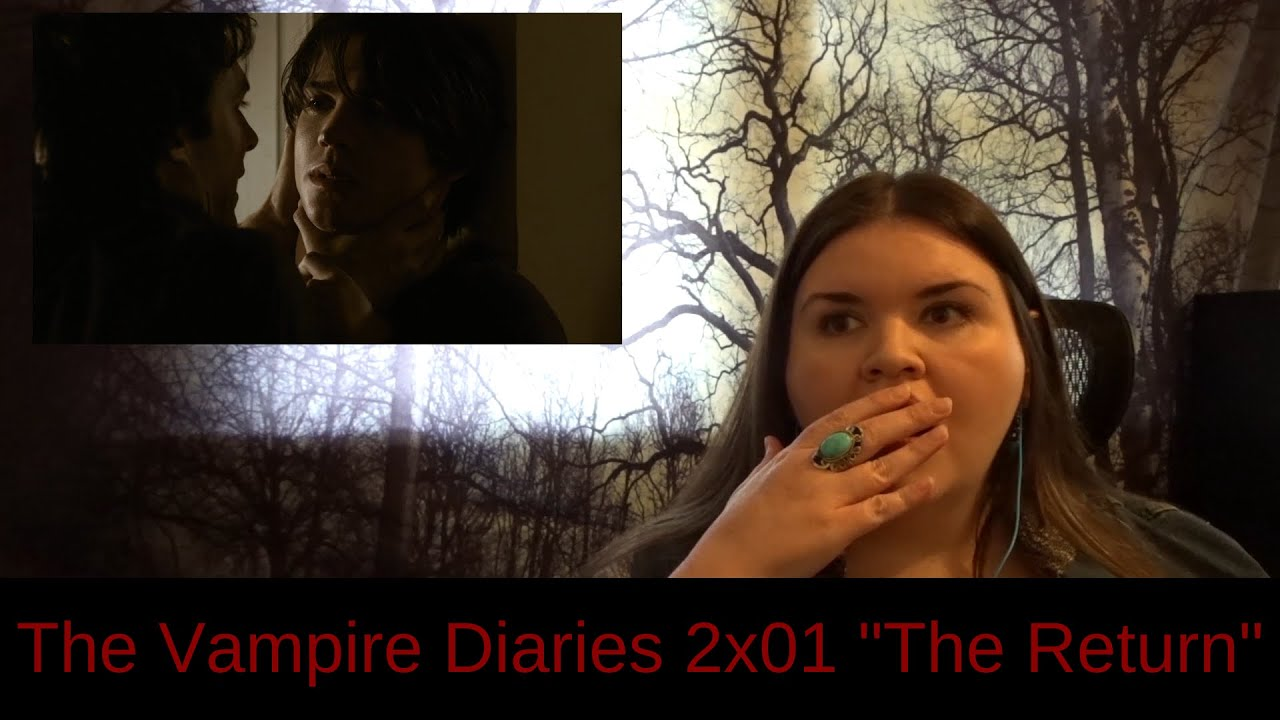 """Download The Vampire Diaries 2x01 """"The Return"""" REACTION & review"""
