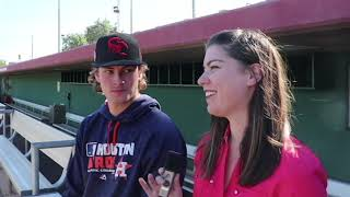 Houston Astros Pitching Prospect Forrest Whitley Interview at Arizona Fall League