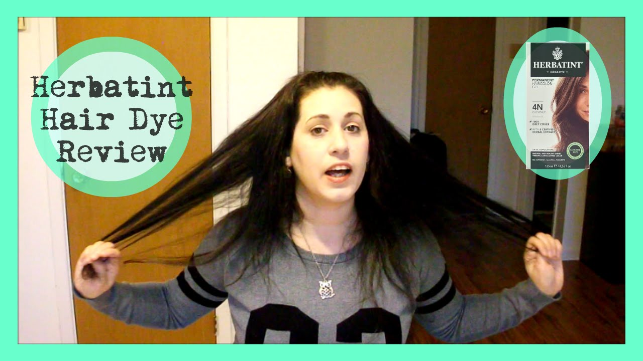 Herbatint Hair Dye Review My Conscious Life Youtube