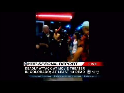 Aurora, Colorado Mass Shooting at Movie Theater (RAW VIDEO)