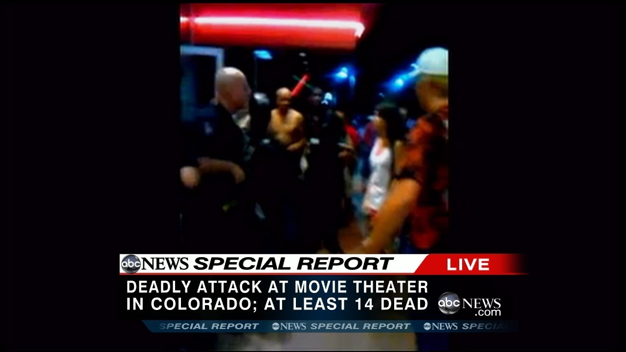 Aurora Colorado Mass Shooting At Movie Theater Raw Video Youtube