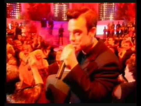 """♫ Robbie Williams """"Tripping"""" Live On French TV ♫"""