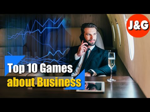 Top 10 Best Management Simulation | Games About Business| Learning To Make Money