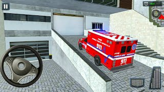 Emergency Ambulance Car Driver Pro - 911 Van Truck Driving - Android Gameplay