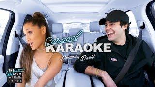 Ariana Grande and David Dobrik Carpool Karaoke