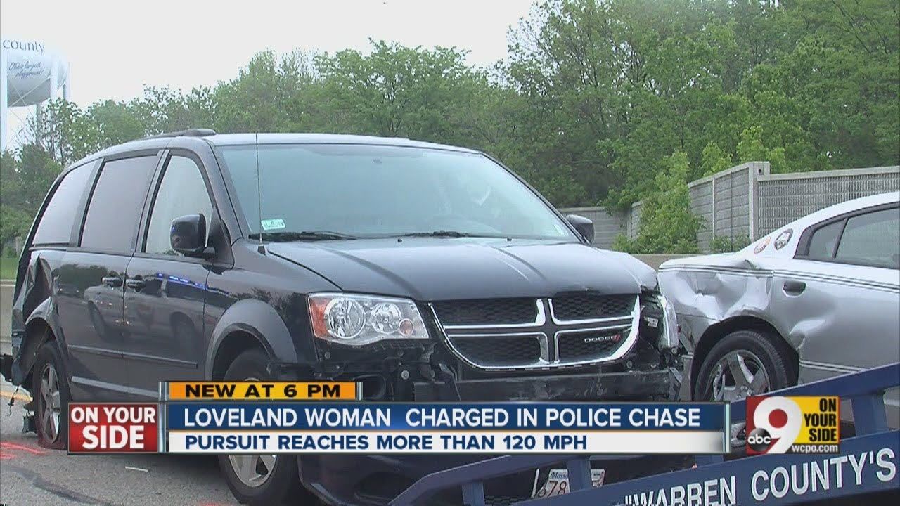 High-speed chase ends with crash involving Ohio State Highway Patrol cruiser