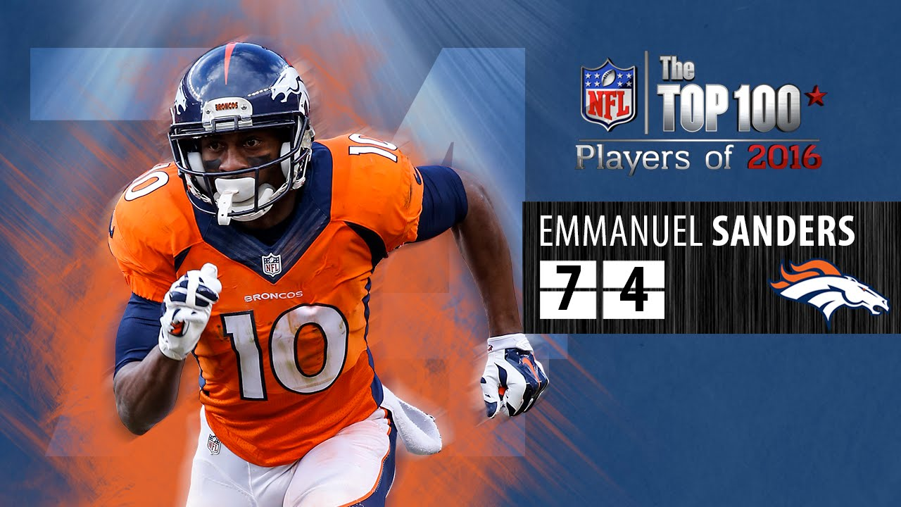 74 Emmanuel Sanders WR Broncos