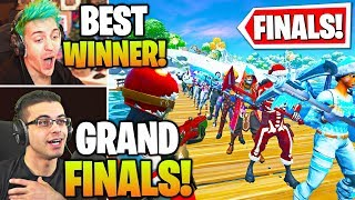 Streamers Host *GRAND FINALS* SKIN & EMOTE Contest! (Fortnite)
