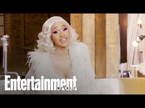 Cardi Bs Hilarious Entertainers Of The Year Acceptance Speech | Entertainment Weekly