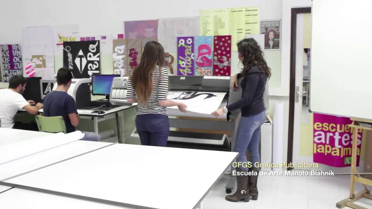 Ciclo Formativo Grado Superior Gráfica Publicitaria Escuela De Arte Manolo Blahnik La Palma