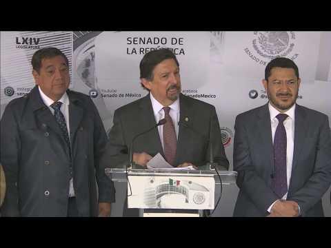 Conferencia Del Senador Napoleón Gómez Urrutia, Del 3 De Diciembre De 2019