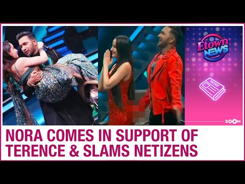 Nora Fatehi SLAMS netizens for accusing Terence Lewis of inappropriately touching her