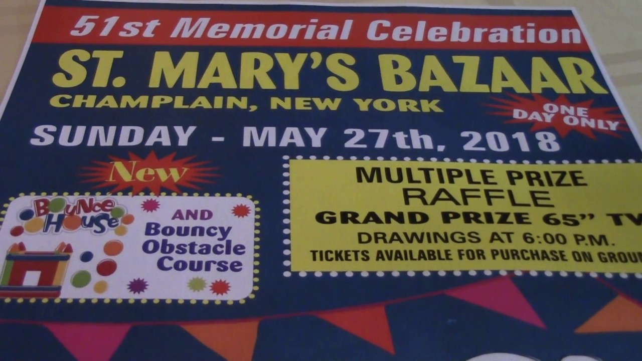 St. Mary's Bazaar Preview  4-20-18