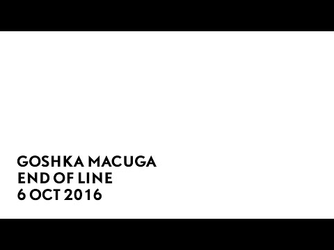 Goshka Macuga, End of Line, 6 Oct 2016