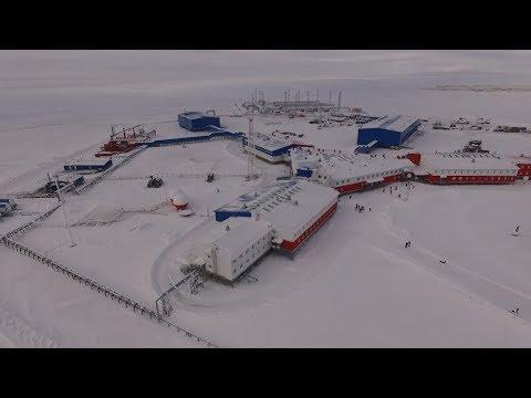 Минобороны РФ впервые показало военную базу «Северный клевер» в Арктике