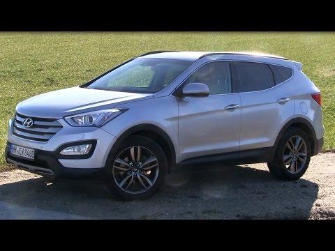 2015 Hyundai Santa Fe 2.2 CRDi 4WD (197 HP) Test Drive