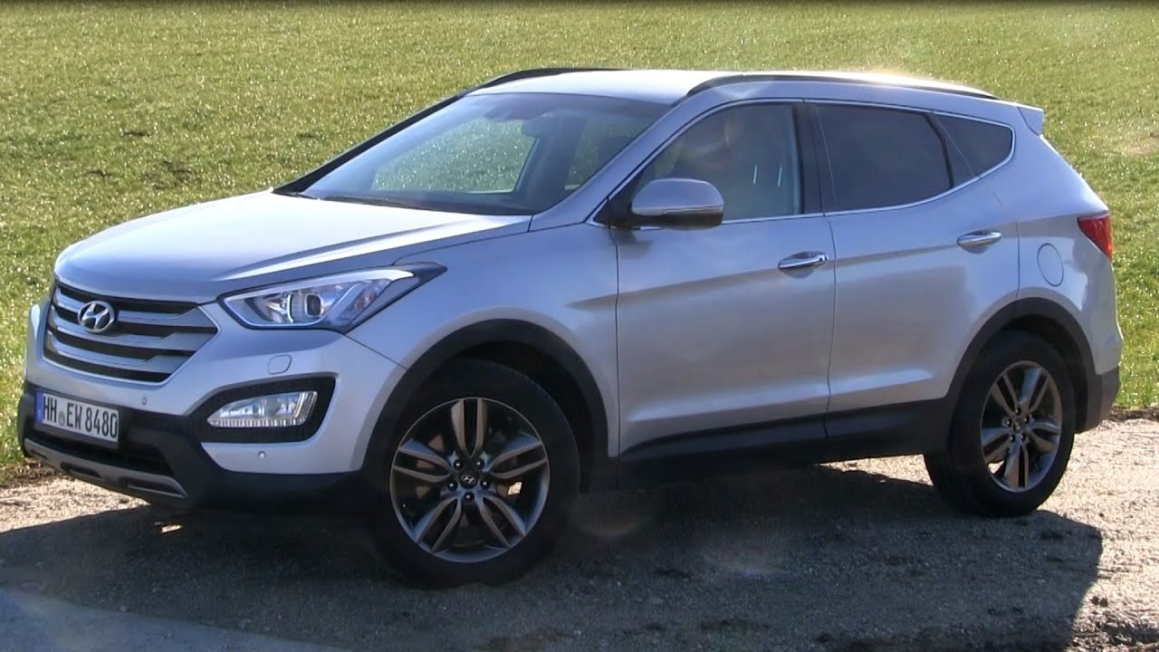 2015 hyundai santa fe 2 2 crdi 4wd 197 hp test drive funnycat tv. Black Bedroom Furniture Sets. Home Design Ideas