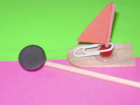 """How to make make a """"magnetic boat"""" - EP - simplekidscrafts ..."""