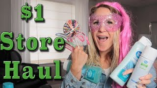 Dollar Store Haul!! Hair products challenge!