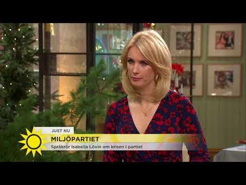 Isabella Lövin: Om krisen i Miljöpartiet - Nyhetsmorgon (TV4)