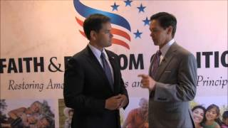 RTM 2013 Backstage Access with Sen. Marco Rubio