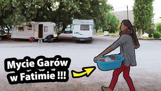 Jak umyć Gary w Fatimie? - Patent Kasi !!! + Muzeum Figur Woskowych !!! (Vlog #329)