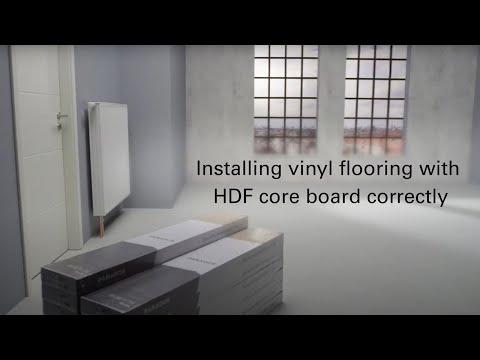 How To Install Parador Vinyl Flooring Youtube