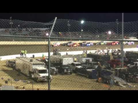 I55 Raceway Driver Goes Crazy Under Caution 6/17/17
