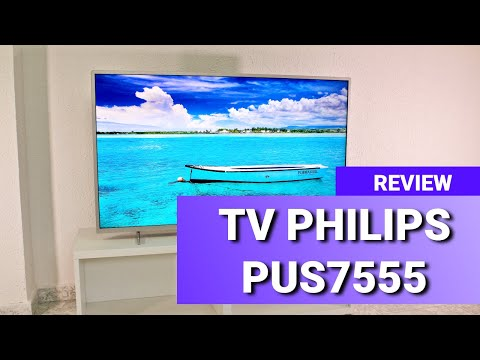 Philips PUS7555 / PUS7505 Review ✅ Good value for price UHD 4K TV