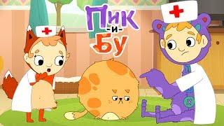 Пик и Бу - Игрушка для блинчика | Как сделать игрушку для кошки своими руками