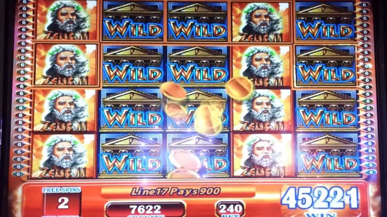 Zeus gambling machine casino fiesta puntarenas resort